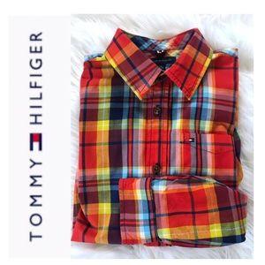 Tommy Hilfiger Multicolored Plaid Shirt
